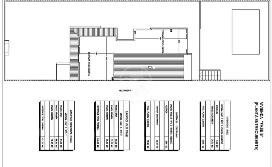 2021-01-07 10_30_02-PLANTA CUBIERTA.pdf en nog 2 andere pagina's - Persoonlijk - Microsoft Edge